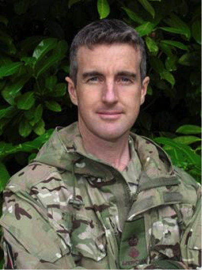 Colonel Andy Cox MBE