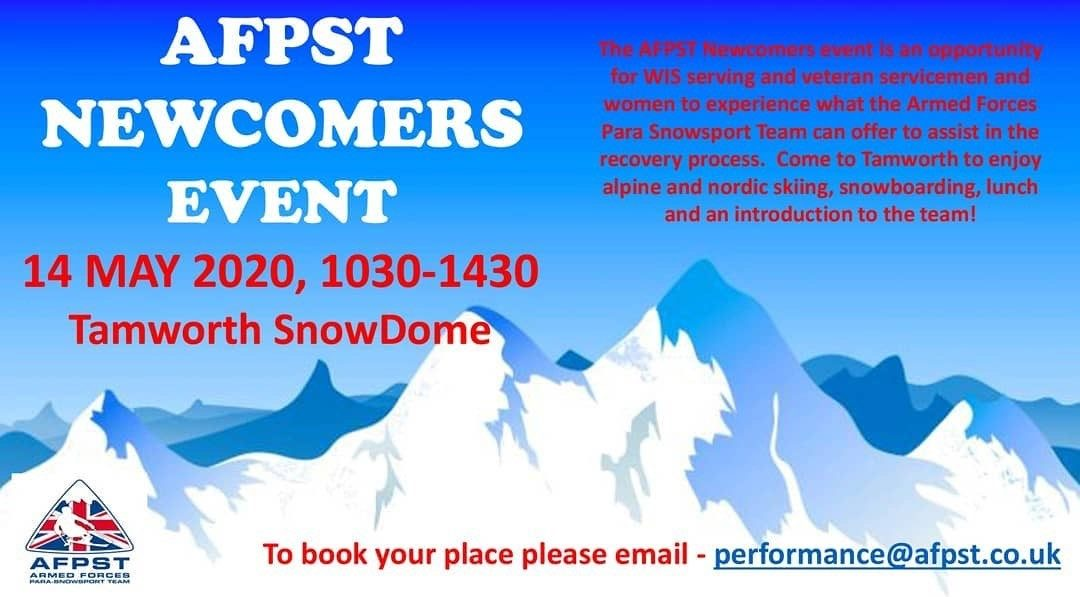 SIGN UP FOR OUR NEWCOMERS EVENT NOW!!