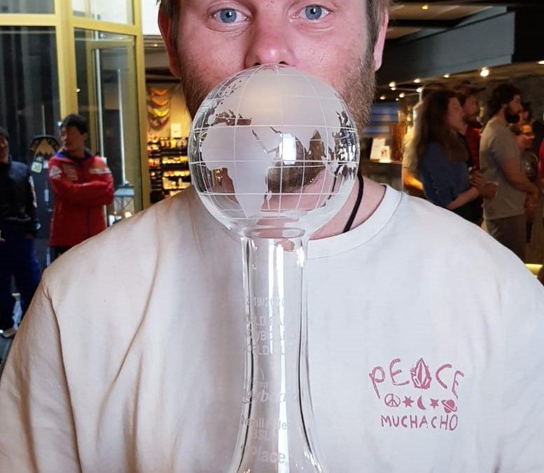 Owen Pick Crystal Globe Winner